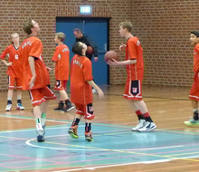 Teamfoto van team Basketbal toernooi Berlijn