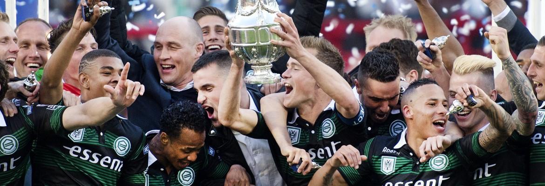 Banner van club FC Groningen