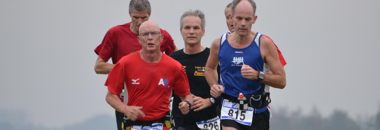 Banner van club Atletiek Vereniging Zeewolde